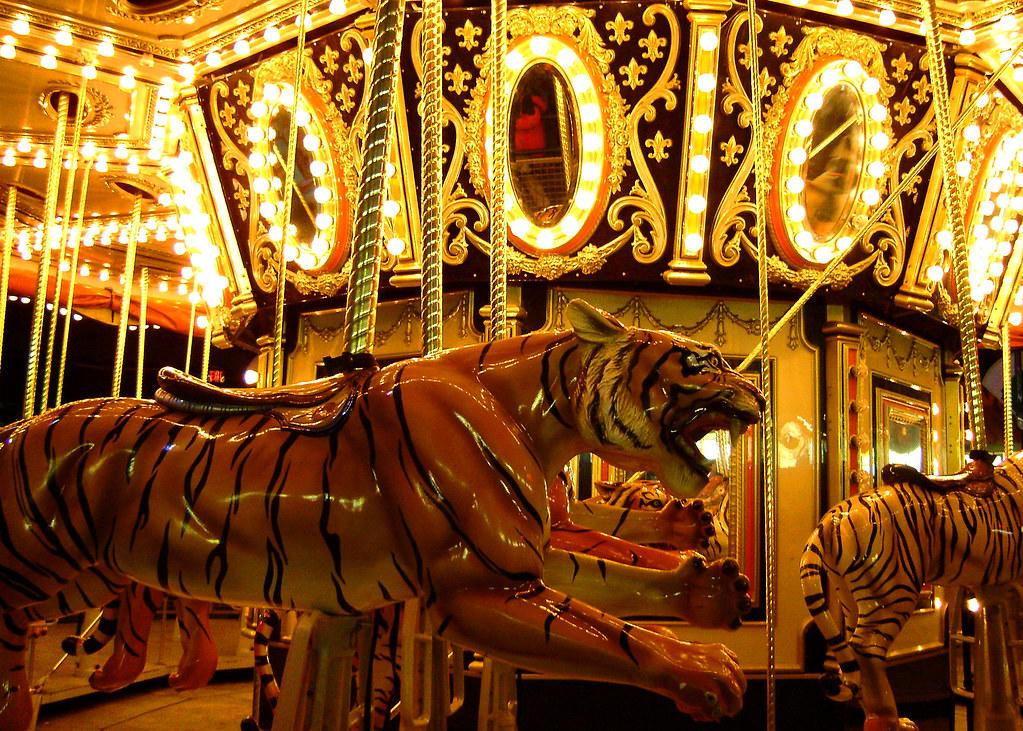 Tiger Carousel | Ryan Swift | Flickr