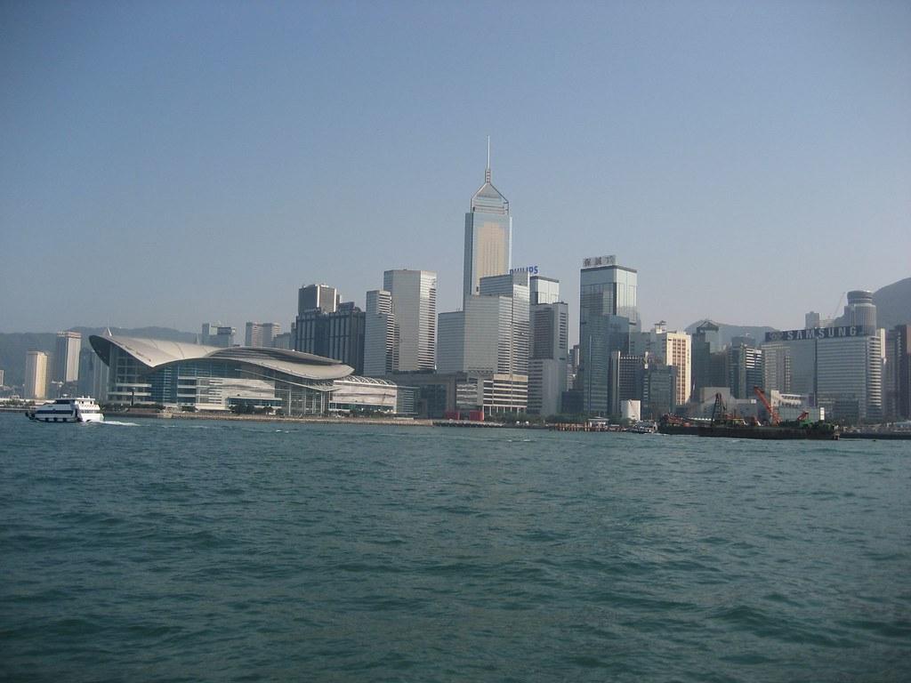 Hong Kong from the water