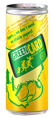 GreenCard Energy Drink | by nathangibbs