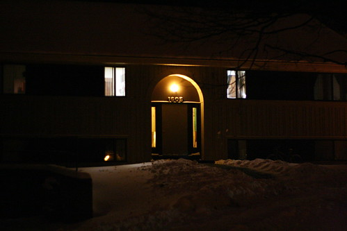 My apartment building