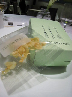 Parsnip cereal in its Fat Duck Cereal box | by Boots in the Oven