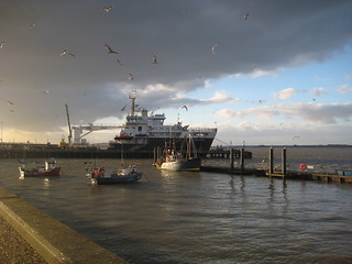 The Galatea at the Trinity House pier | by LizRap