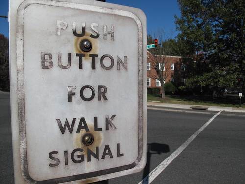 push button for walk signal | by nevermindtheend