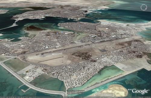 Muharraq Island - looking back at Manama