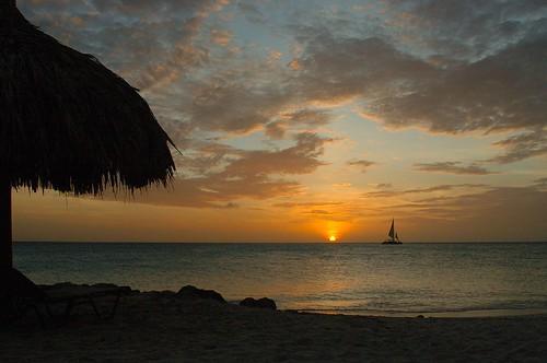 sunset sea vacation sky orange sun holiday seascape hot beach nature clouds landscape coast boat nikon sailing d70 eagle sails scenic aruba romantic caribbean waterscape tamarijn mywinners diamondclassphotographer flickrdiamond onlythebestare excapture