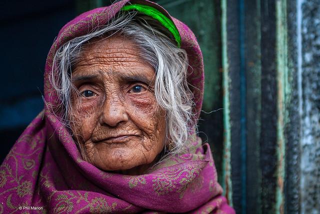 Elderly woman, Jodphur, India