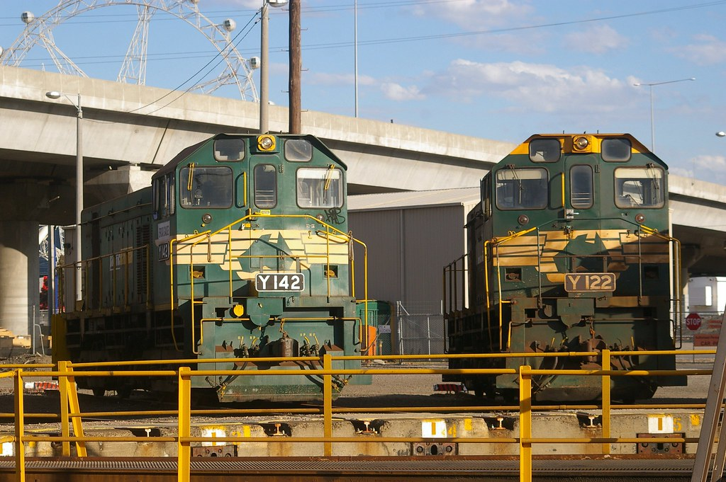 Y142 and Y122 at South Dynon by Michael Coley