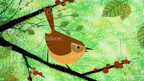 forest bird | Development sketches for the Irish animated fe… | Flickr