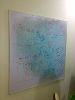 my white-green-red-black board or modern art | by AjiNIMC