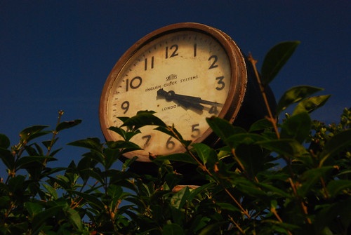 St Anne's Well Clock   by chilsta