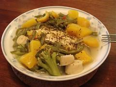 Homemade Steamed Tilapia Dinner - 3 | by inju