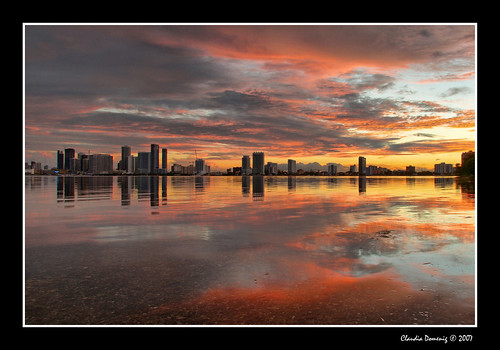 sunset reflection skyline clouds bravo florida miami stormy jpeg soe hdr i195 biscaynebay supershot canonefs1785mmf456isusm 3exp juliatuttlecauseway mywinners shieldofexcellence diamondclassphotographer flickrdiamond excellentphotographerawards miamidadeco proudshopper dphdr rsizr