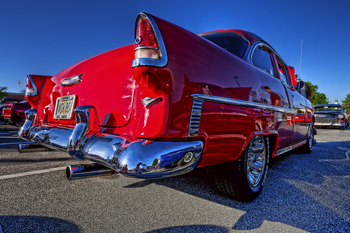 old red chevrolet belair 1955 spring lab south may deep auburn chevy canon5d hdr cruisers 2010 smörgåsbord photomatix labcolor ef1740mmf4lusm deepsouthcruisers topazadjust hz536n