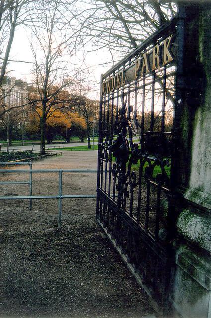 Vondelpark gate