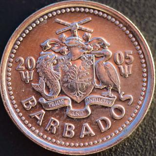 Barbados 10 cents