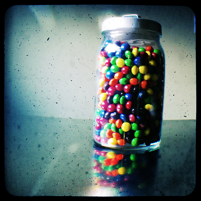 Jar of Skittles TtV