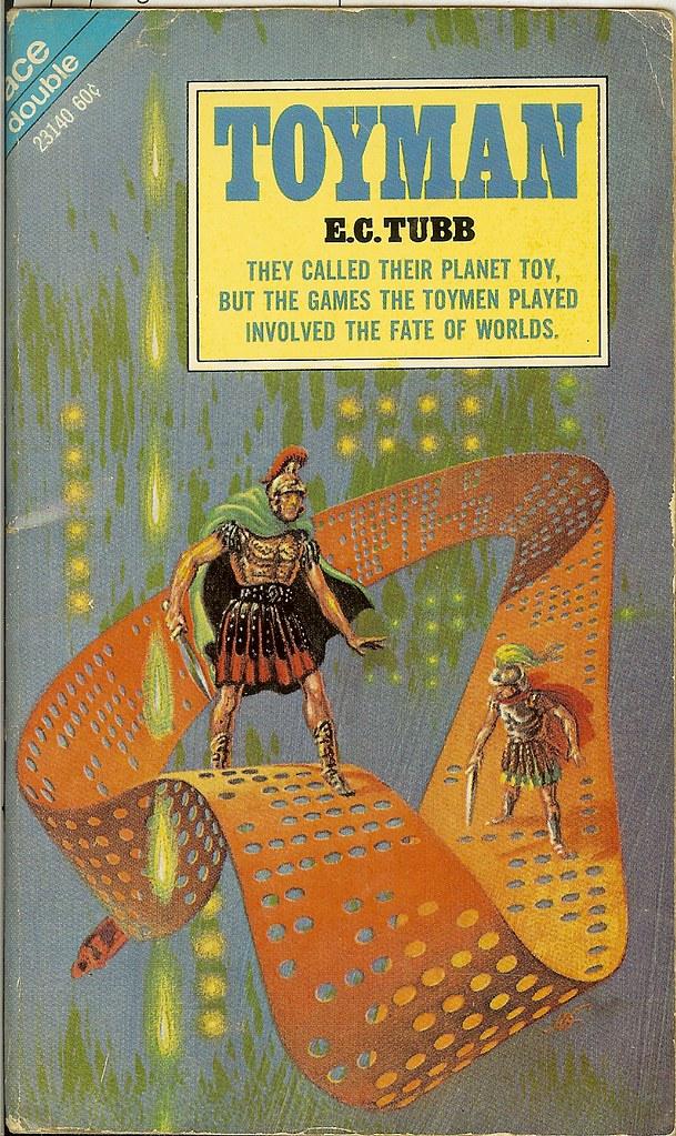 Dumarest Saga Book 3 - Toyman - E.C. Tubb - cover artist K…   Flickr