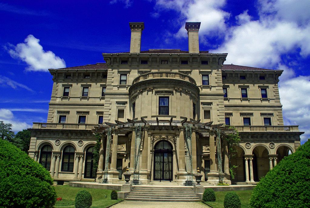 On White: The Breakers Mansion at Newport, Rhode Island by ...