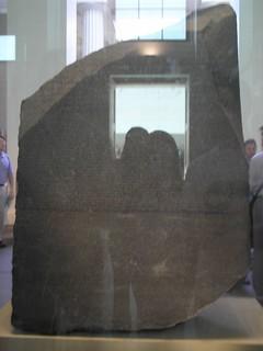 the Rosetta Stone, British Museum