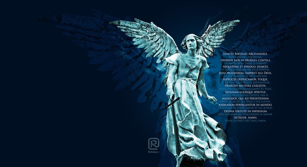 St Michael The Archangel Wallpaper Fr Fotokatolik Flickr