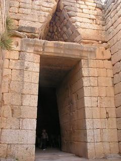 Grecia Micenas Tumba de Agamenon 12