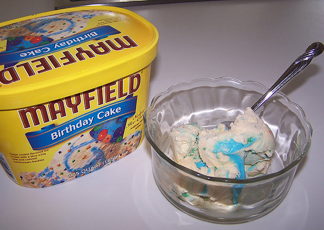Super Mayfield Birthday Cake Ice Cream Seriously The Best Ice C Flickr Funny Birthday Cards Online Overcheapnameinfo