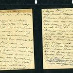 Jane Addams note