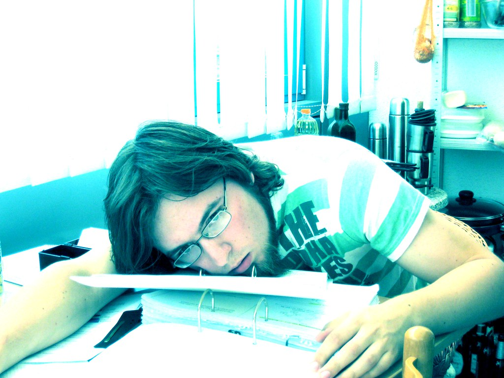 Exam exhaustion