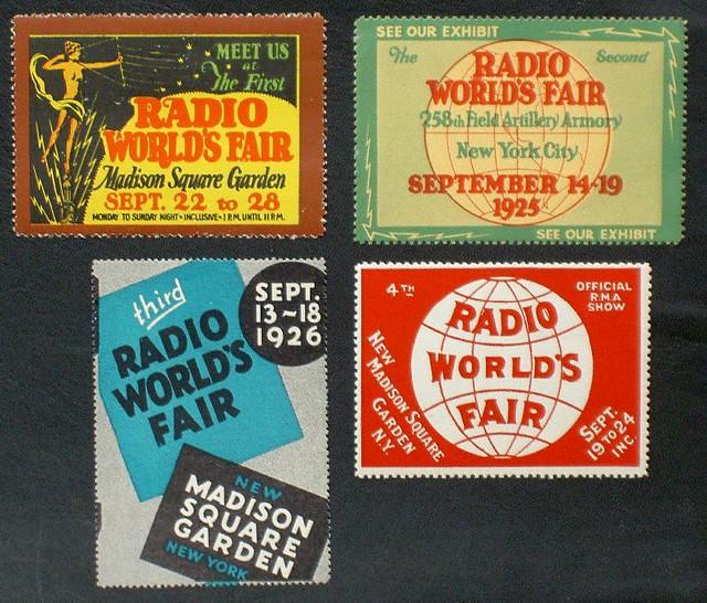 Radio World's Fair  1920s MSG
