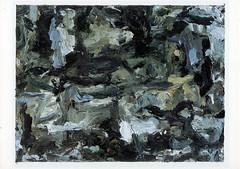 croxcard 18 vincent de roder (1998) zonder titel<br /> acryl op doek 40x30cm