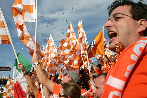 Dynamo Supporters at MLS Cup 2006 | by wjarrettc