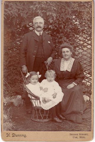 Alfred & Blanche Watkins & Children