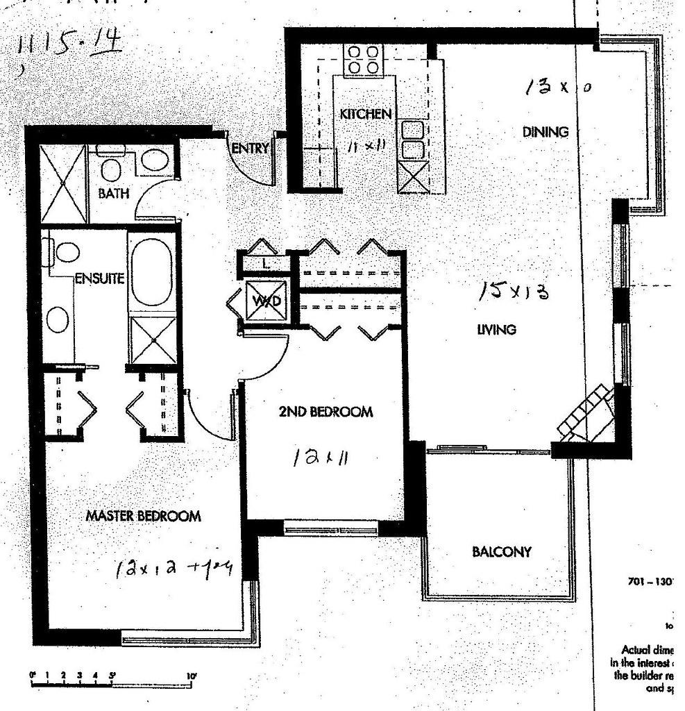 Condo Unit Floor Plan Unit 1101 Is Mirror Image To This Flickr