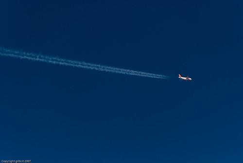 summer sky italy geotagged italia estate aircraft aviation trails august agosto cielo airbus aviazione easyjet 2007 a320 scie aeroplani geo:lat=467588921654189 geo:lon=428072863536482