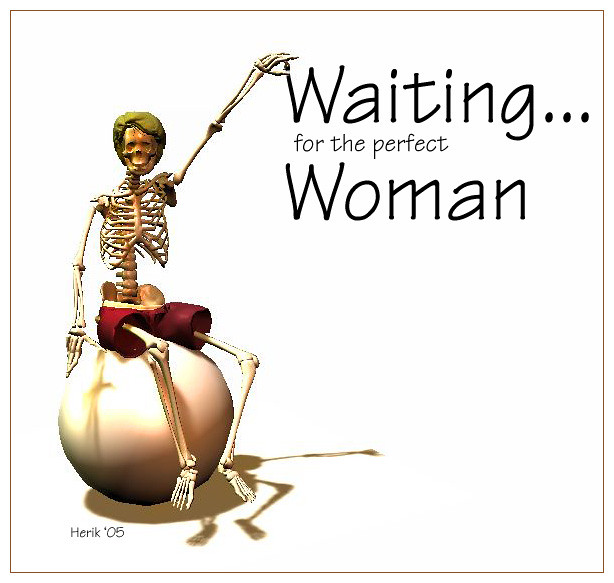 Waiting For The Perfect Woman 3d Sketch Harri E Palin Flickr
