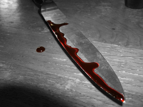 Bloody Knife | by WickedLette2013
