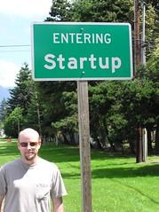 Entering startup   by dierken