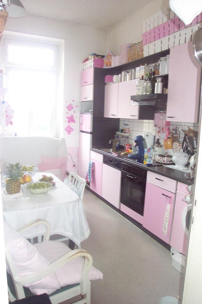 Unsere Rosa Kueche Our Pink Kitchen 100prozentschoende Flickr