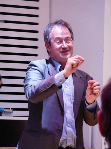 Robin Ince at the Wellcome Collection | by taraghb