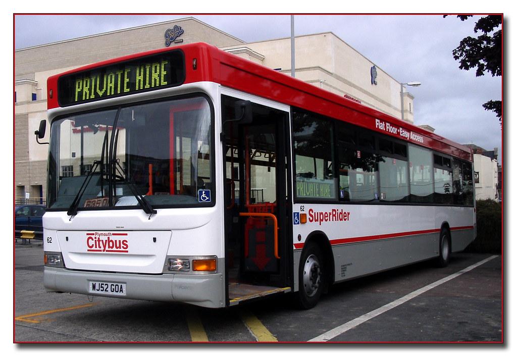 Plymouth Citybus 062 WJ52GOA