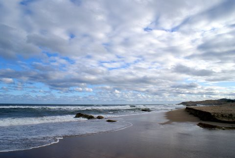 Clouds over Umkobi Beach 1