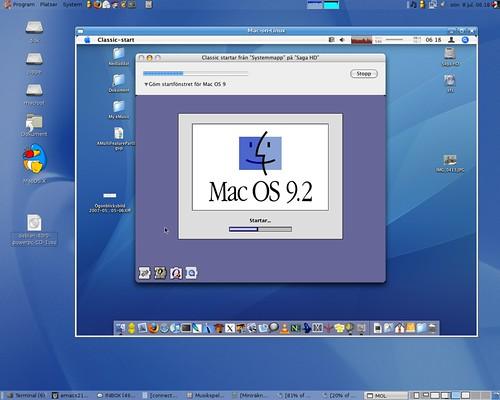 mac-on-mac-on-linux | Running Mac OS 9 2 inside Mac OS X ins