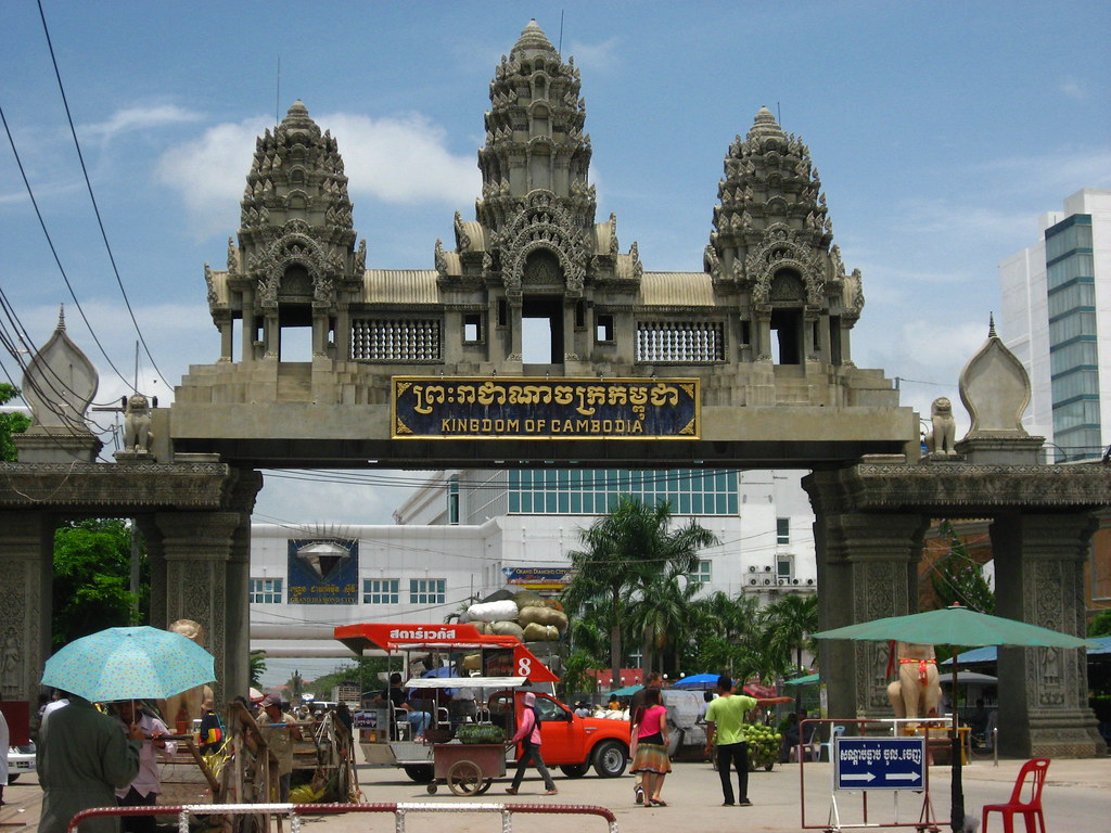 Poipet - the infamous Thai-Cambodia border
