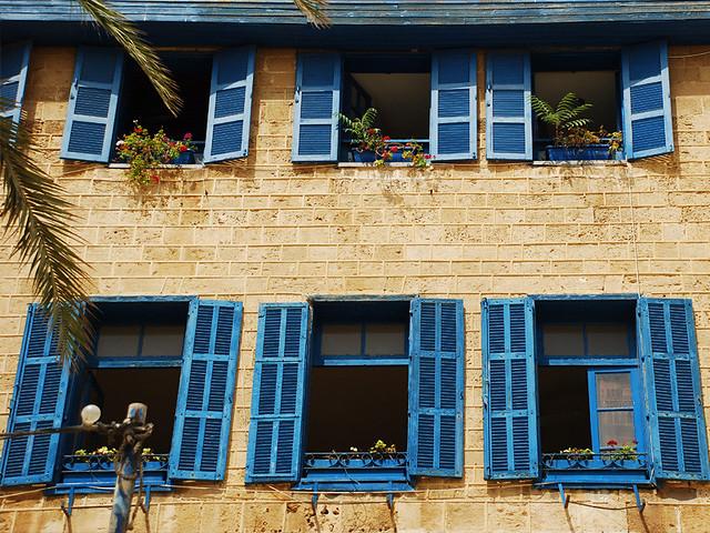 The blue Windows