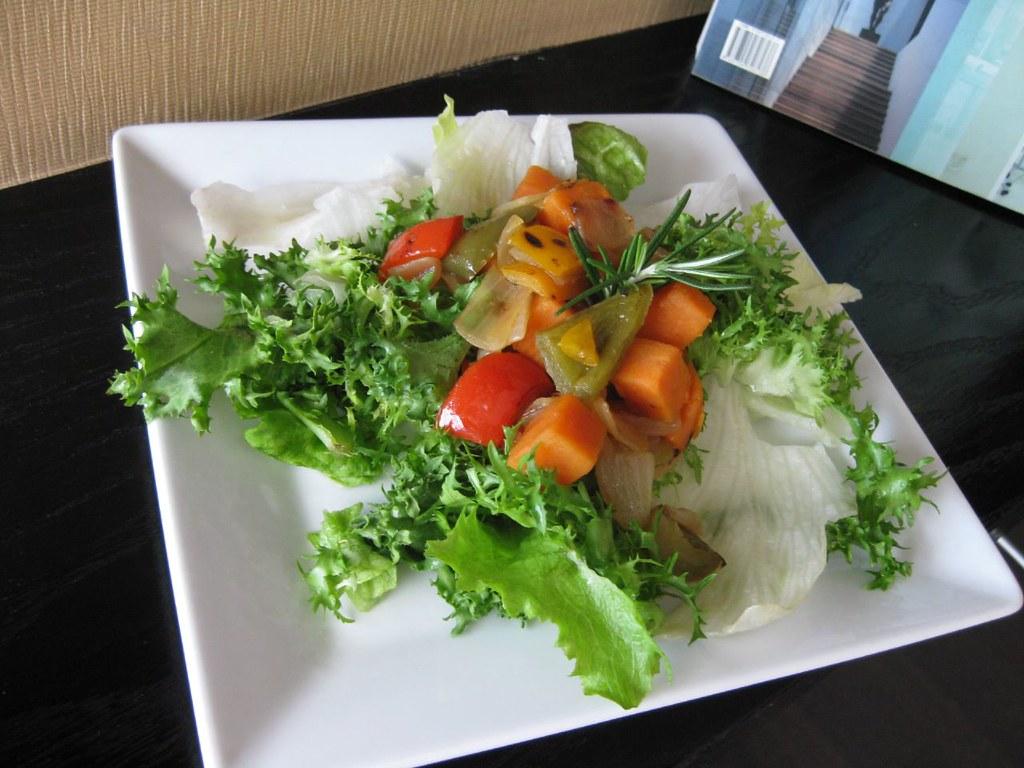 Ensalada de hortalizas con mayonesa receta nutritiva