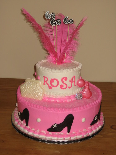 Diva Cake ~ 60th Birthday | by Frost Cake Co.