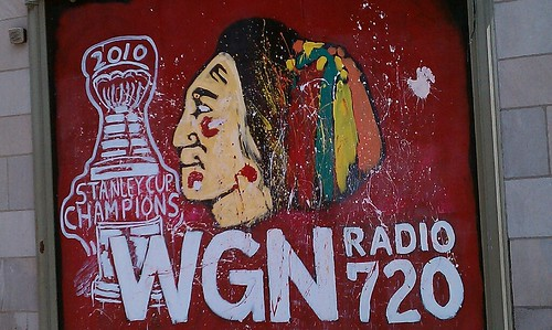 Blackhawks Pride At WGN Radio