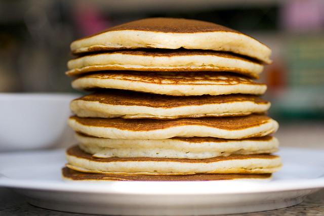 the obligatory pancake ultrapurist shot
