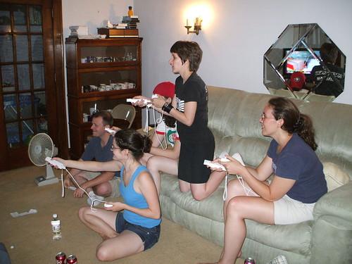 8/10/07 - Matt's Parents' House: John, Katie, Mary, Me, and Joelle