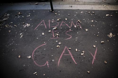 Adam is Gay   by mrtruffle